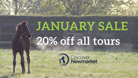 Discover newmarket January Sale 20% off all tours